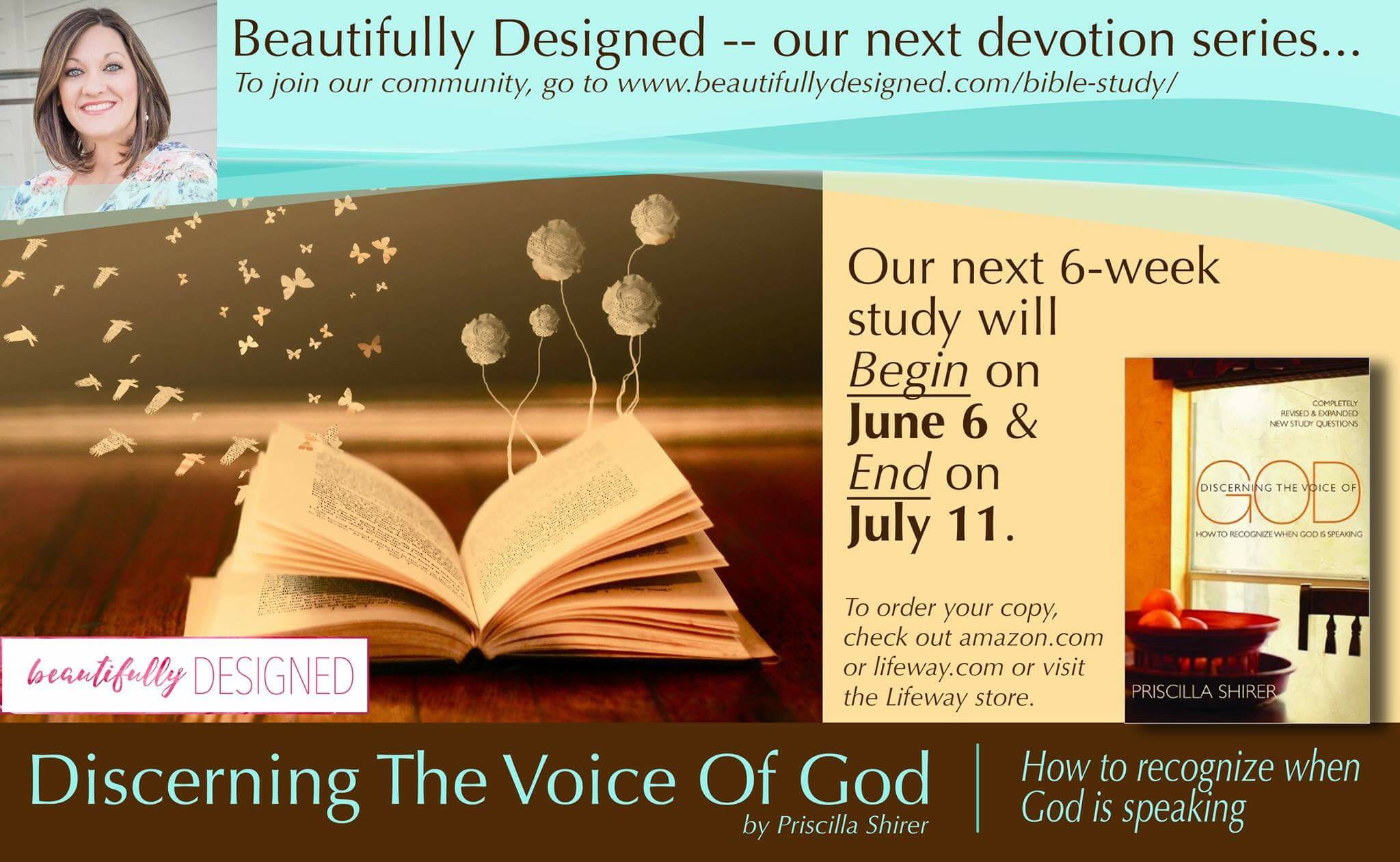 Discerning the Voice of God:  13-14