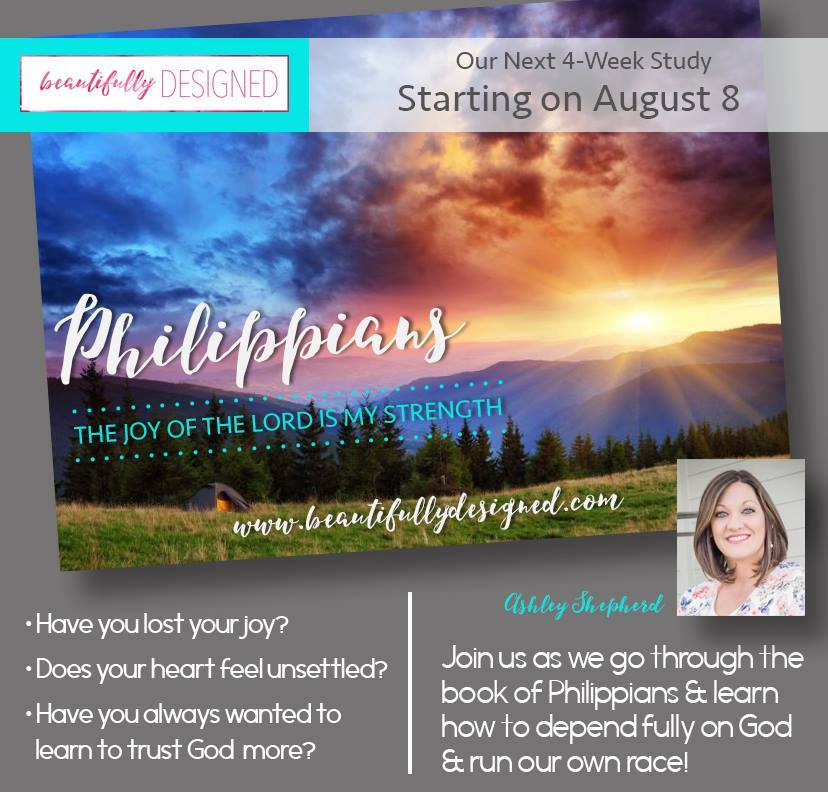 Introducing our new study:  Philippians