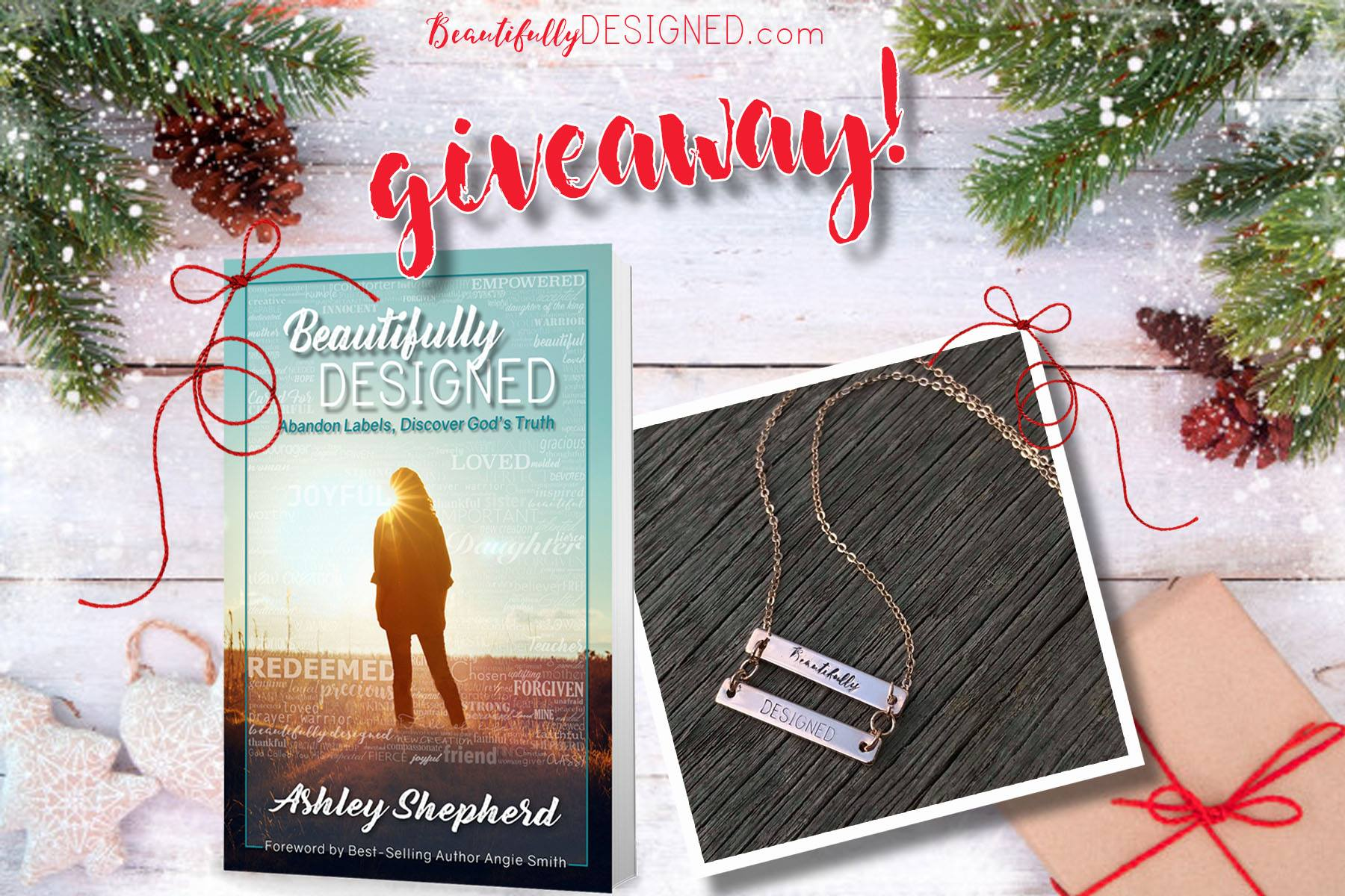 Beautifully Designed Book & Necklace Giveaway