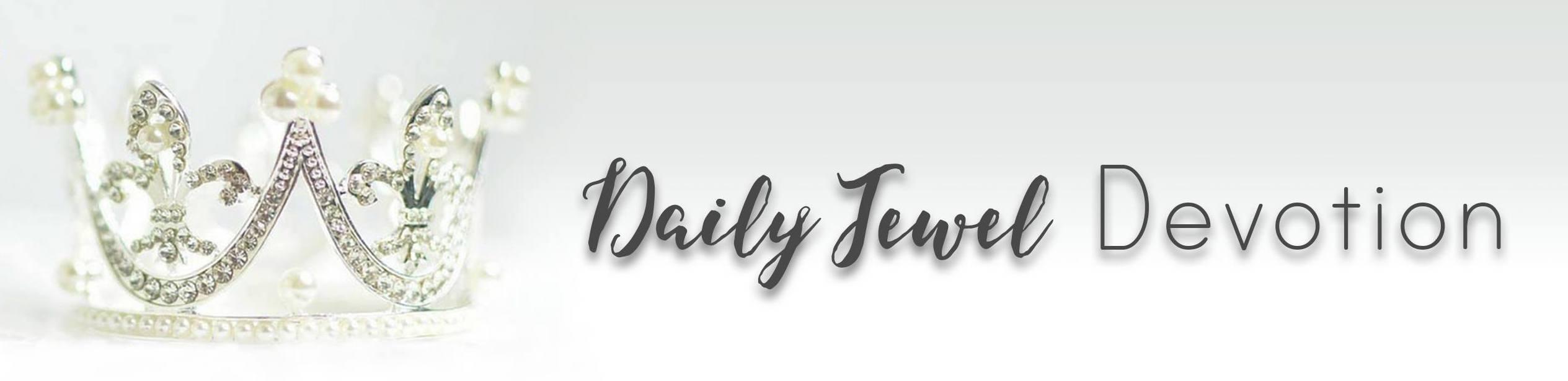 daily jewel devotion header