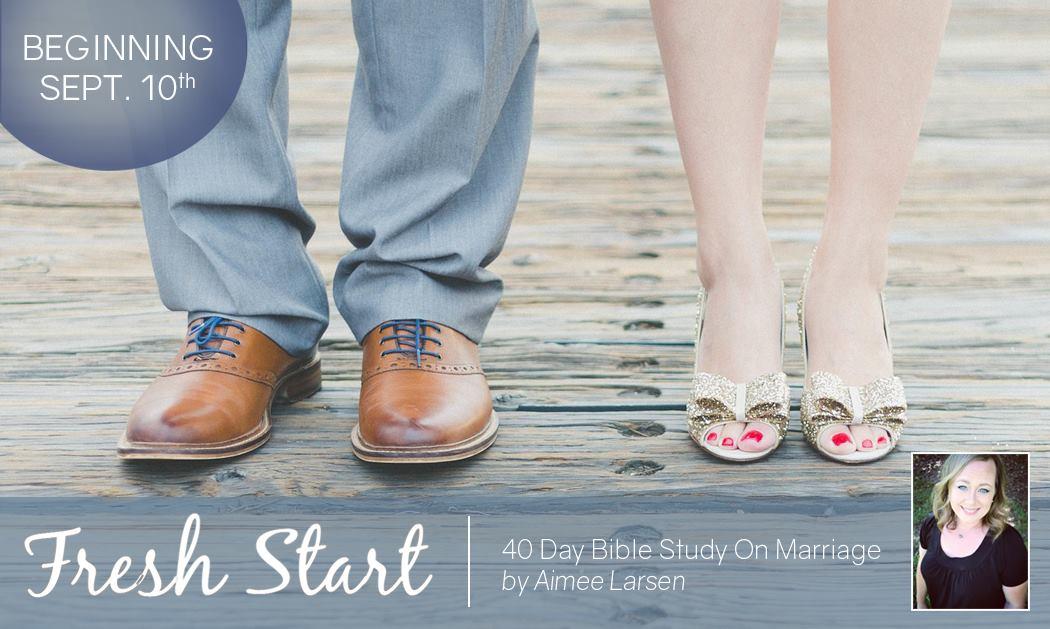 Fresh Start Bible Study